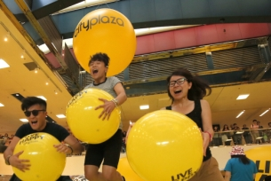 Saatchi Hong Kong Shows Cityplaza Shoppers How to 'Live Happy'