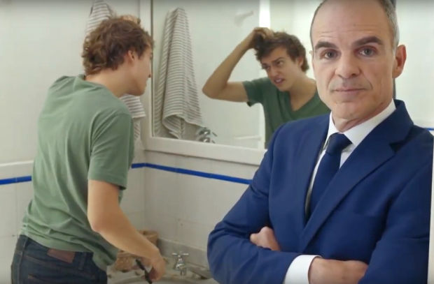 Michael Kelly Warns Us Not to Take Hair for Granted in Comedic Supercuts Ad