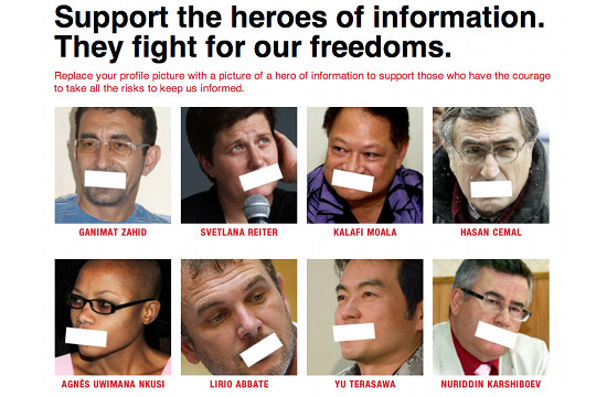 Facebook App Lets You Support 'Information Heroes' This World Press Freedom Day