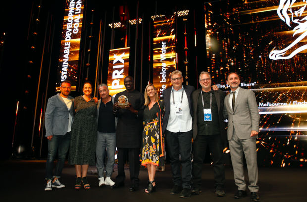 FINCH and Clemenger BBDO Win Cannes Sustainable Development Goals Lions Grand Prix