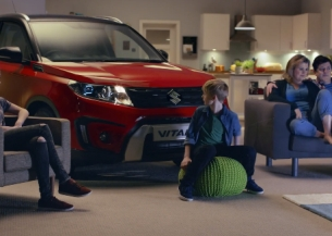 Suzuki Joins the Family for ITV's Saturday Night Takeaway Idents