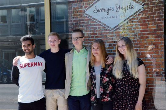 Sweden's Youngest Advertising Agency is Now Open