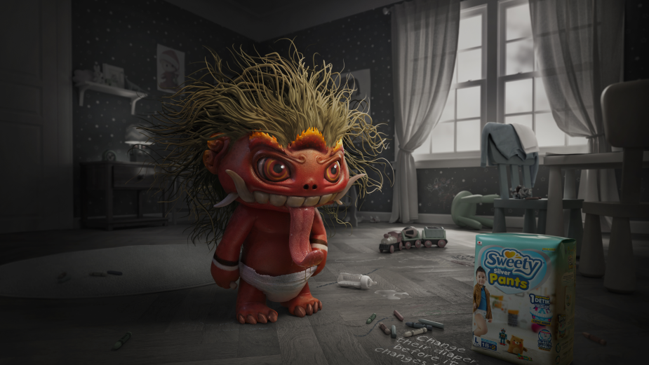 Behind the Work: How Myths and Monsters Get a Cute Twist in a Funny, Folklore-Inspired Baby Campaign from Indonesia