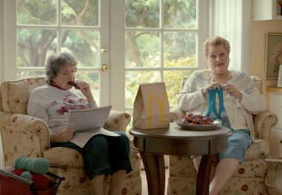 Grandma Gets Sweet N' Spicy in We Are Unlimited's New Campaign for McDonald's