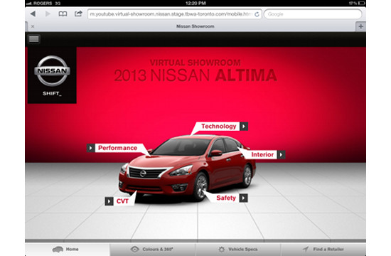 Canada's first Mobile Showroom with Nissan