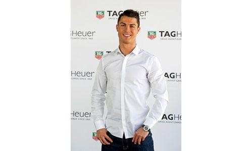 TAG Heuer Announces Cristiano Ronaldo as Brand Ambassador