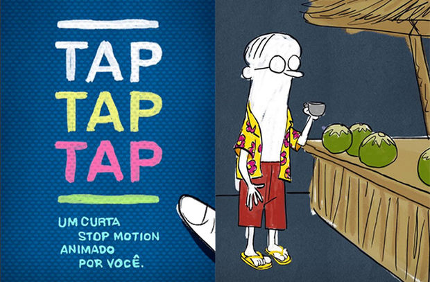 Havaianas Releases Stop-Motion Short 'TAP TAP TAP' on Instagram