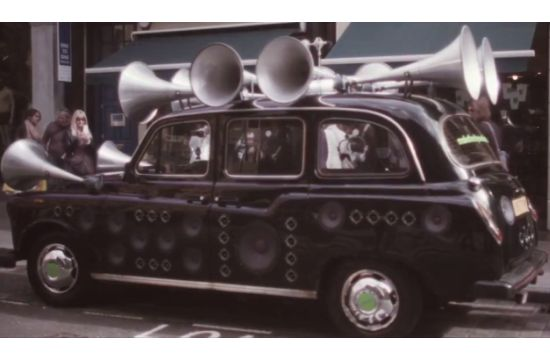 Musical Taxi Captures Sounds of the City