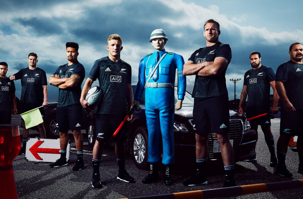 New Zealand's All Blacks Teach Us 'How NOT to Drive in Japan' with AIG