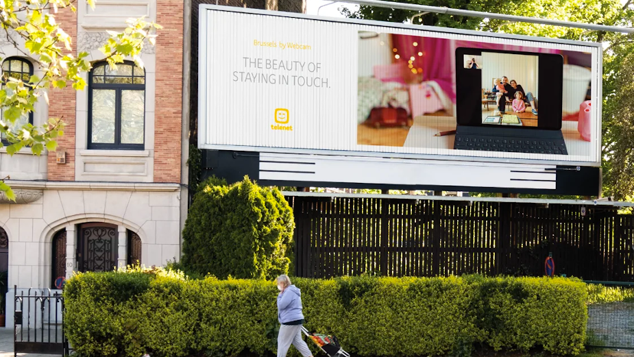 Telenet Shows Beauty of Connectivity with Webcam Lockdown Portraits