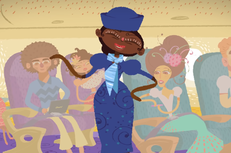 Azul Airlines' On-Board Safety Video Is an Animated Celebration of Brazil