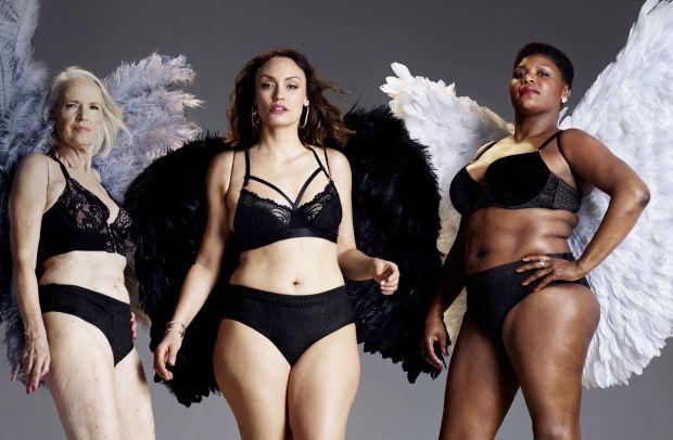 TENA Re-Imagines Victoria's Secret Catwalk Image to Launch New Underwear