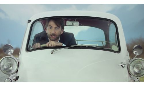 Tennant Takes the Big Kahuna For a Spin in Virgin Media Campaign