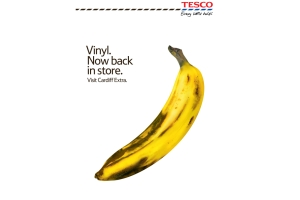 Tesco Goes Vinyl with New Print Campaign from BBH London