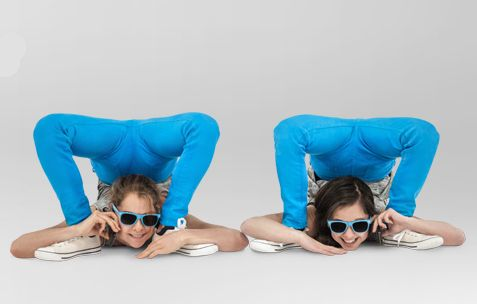 Jam and Tesco Mobile's Real Time Contortionists