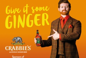Crabbie's Alcoholic Ginger Beer to Sponsor Channel 4's TFI Friday