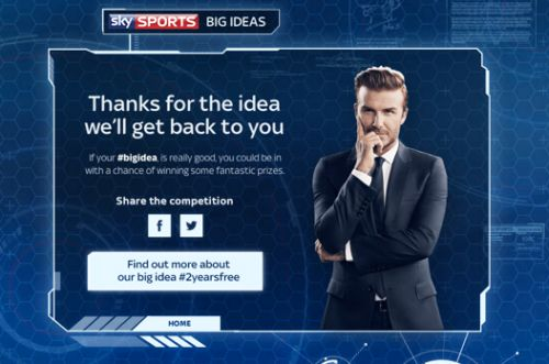 Sky Sports Hunts Twitter For Next Big Thing in Sports Coverage