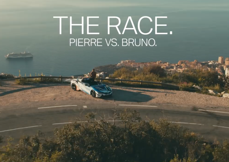 It's Car vs. Sailboat in This BMW Motorsport Spot