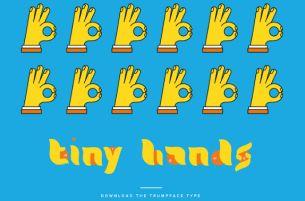 Creatives Turn Donald Trump's Face into a Typeface