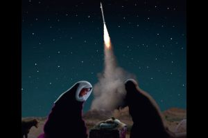 Poignant Christmas Cards Highlight the 'Not So Silent Nights' in the Middle East