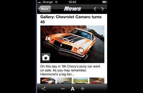 Nimble Mobile Launch Top Gear News Mobile App