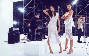 How Whybin\TBWA Sydney Created the World's First Fashion Shoot Powered By Music