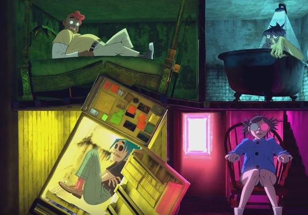 Gorillaz and Google Give You a Fright in VR with Insane 360 Promo
