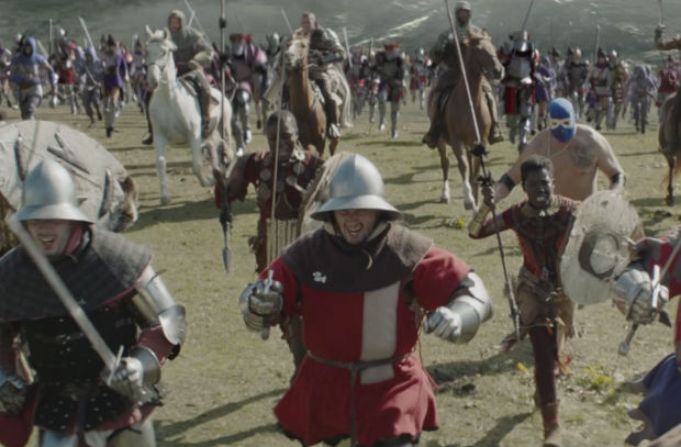 BETC Paris Battles Engine Dirt with Fantasy Army in Epic Total Fuels Spot