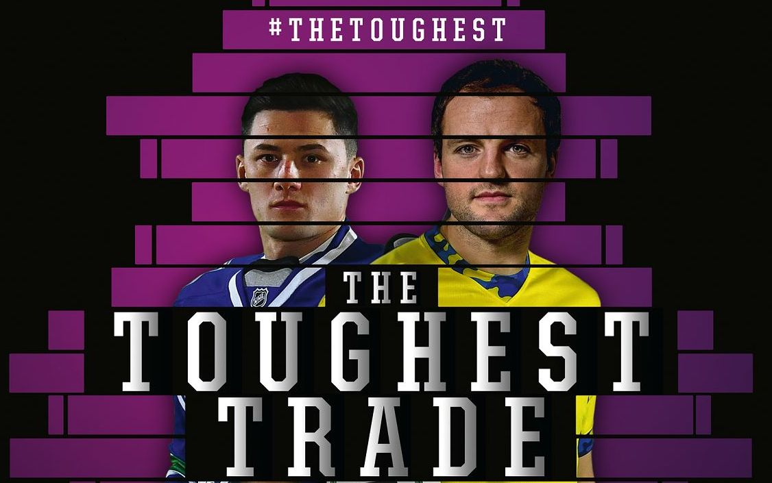 Professional Rugby and NHL Stars Swap Places with Irish GAA Amateurs in AIB Campaign