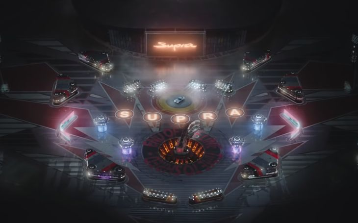 Toyota Races Through a Giant Pinball Machine in New Super Bowl Spot