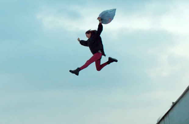 Glad Continues 'Torture Testing' Trash Bags with Stuntwoman and Sniffer Dog Ads
