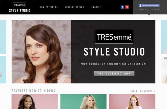 TRESemmé Expands Digital Presence