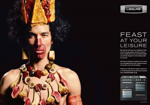 Feast Your Eyes on TBWA\London's Tribal Leisure Campaign