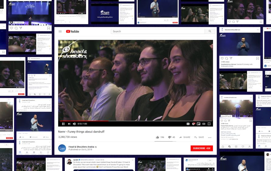 Saatchi Dubai Fools Audiences into Watching Comedy Show About Head & Shoulders