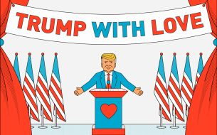 Help Trump Spread Words of Love & Acceptance with This Fun New Site