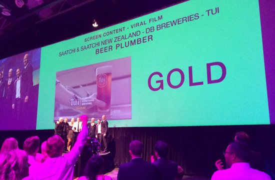 Triple Gold for Saatchi & Saatchi NZ at AXIS Awards