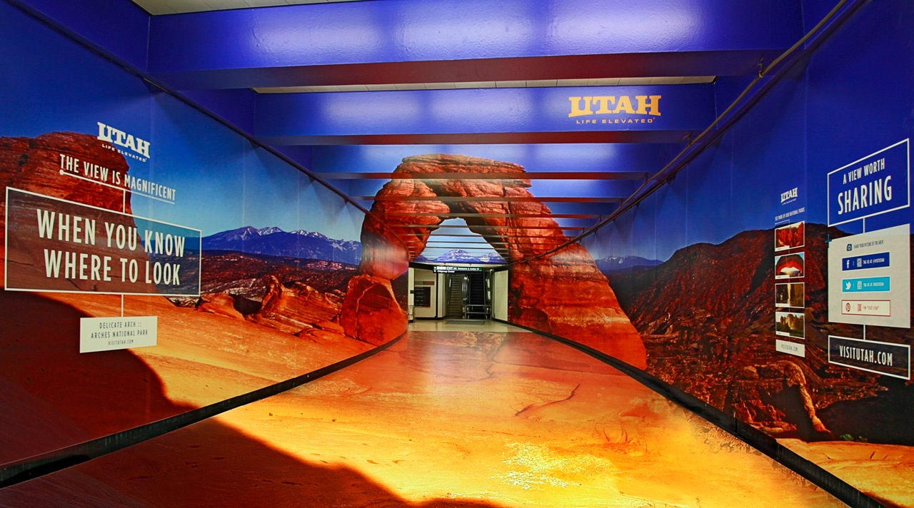 Struck Creates 1st 'Forced Perspective' Subway Wrap