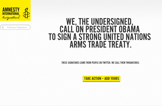 Amnesty International Twignature