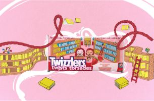Nice Shoes Creative Studio Animates Friendship With A Twist With Twizzlers