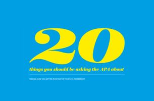 20 Things You Should be Asking the APA About