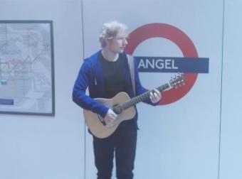 VCCP & Ed Sheeran's One Take Wonder for O2 Priority