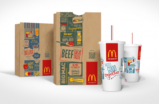Boxer Creates Global McDonald's Packaging