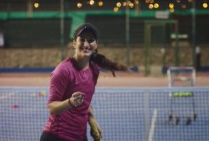 Tennis Pro Fatma Al-Nabhani Tells Her Story in Beautiful New Nike Short