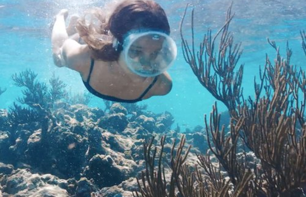 Dive into James Morgan's Underwater Spot for La Mer