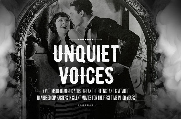 Domestic Violence Victims Give Voice to Abused Characters in Silent Films