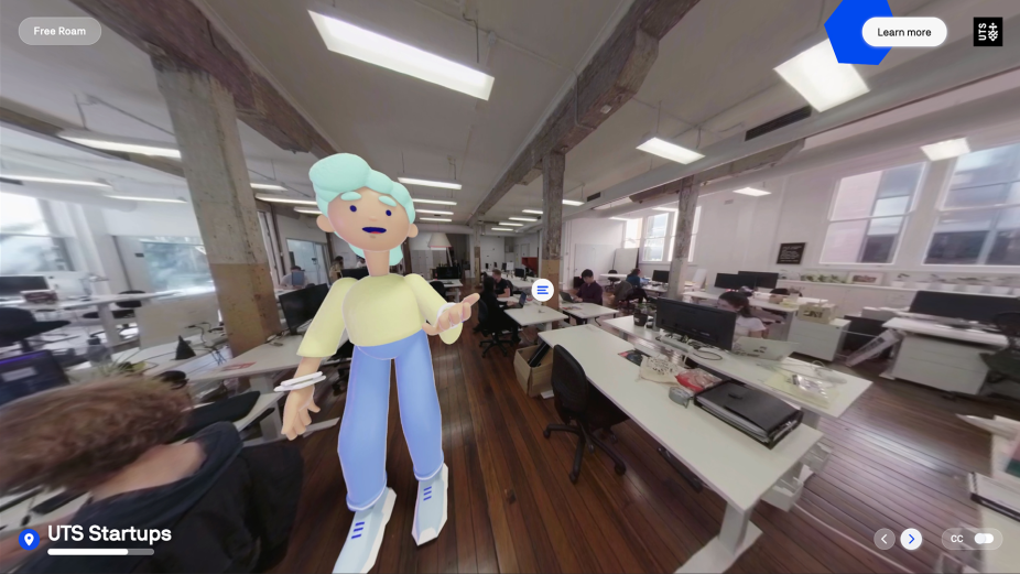 Paper Moose Creates Immersive Experience to Help UTS Leap Pandemic Hurdles