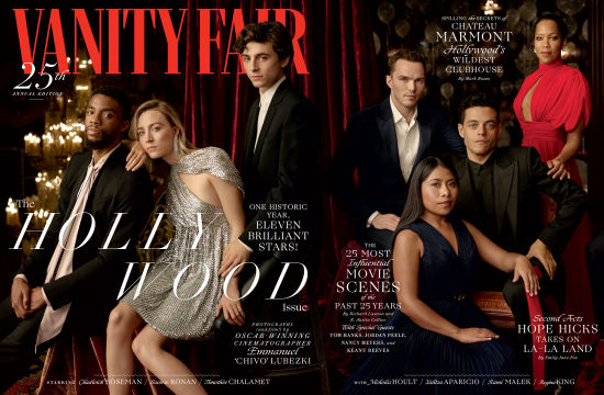 Behind Vanity Fair's 25th Hollywood Issue's Striking Cover