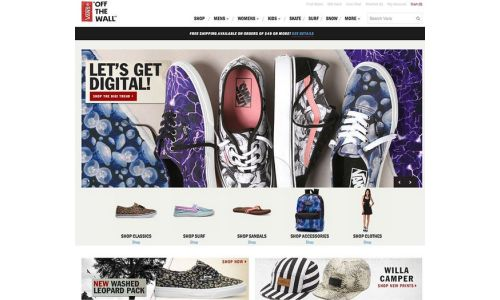 Vans Looks to Consumer Engagement with Website Redesign