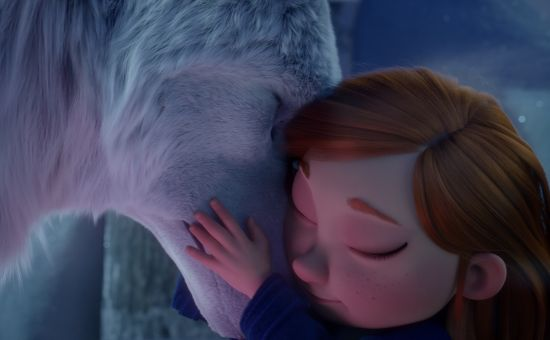 Run with Ulfie the Snow Wolf in Very's Gorgeous Christmas Campaign