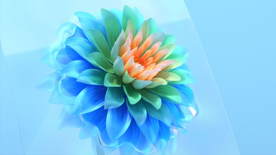 Final Frontier Brings Flower Power to VIVO's New Mobile Wallpaper Concept